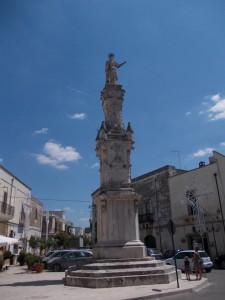 Torre Santa Susanna - la Colonna di Santa Susanna