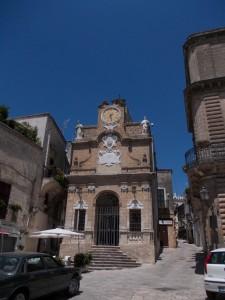Oria - la Piazza Manfredi