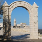 Trani - La Cattedrale from Villa Communale