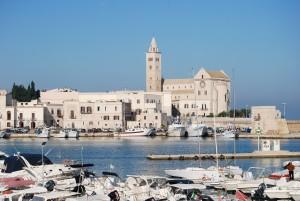 Trani - the harbour