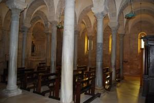 Trani - la Cattedrale crypt