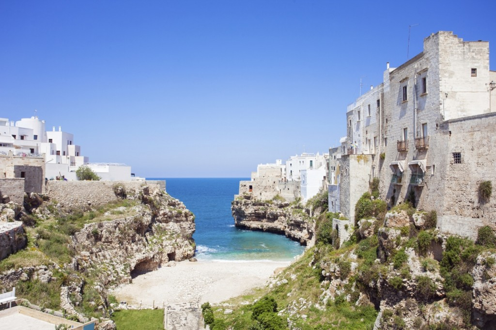 The cove at Polignano a Mare