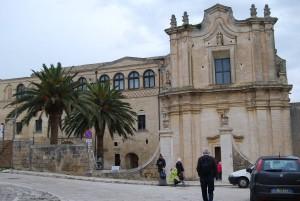 Matera - il Convento di Sant'Agostino