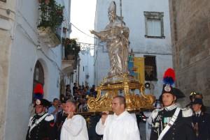 La Cavalcata di Sant'Oronzo, Ostuni